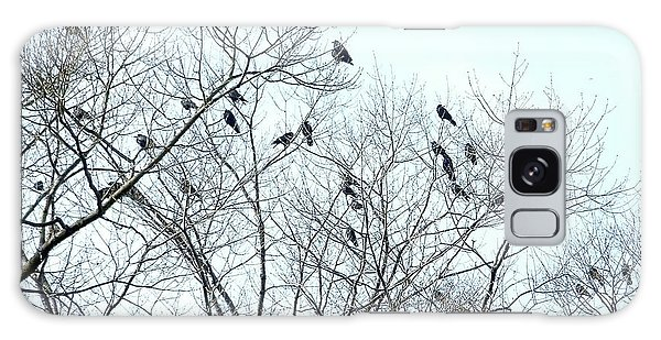 Crow Trees Galaxy Case