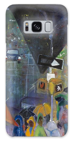 Crowded Intersection Galaxy Case by Leela Payne