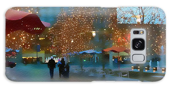 Crown Center Christmas Galaxy Case by Ellen Tully