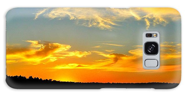 Crown Lake  Sunset  Retired Ahhh Galaxy Case by Cindy Croal