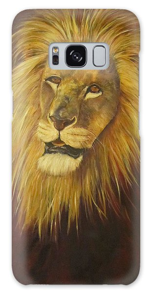 Crown Of Courage,lion Galaxy Case
