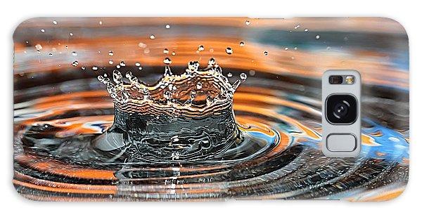 Crown Shaped Water Drop Macro Galaxy Case