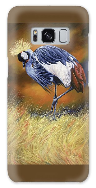 Crane Galaxy S8 Case - Crowned by Lucie Bilodeau