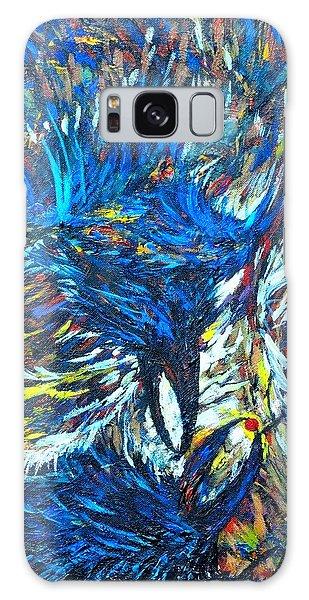 Crows Galaxy Case by Charles Munn