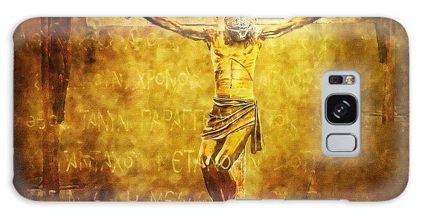 Crucified Via Dolorosa 12 Galaxy Case