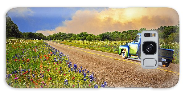 Crusin' The Hill Country In Spring Galaxy Case