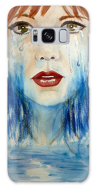 Crying A River Galaxy Case