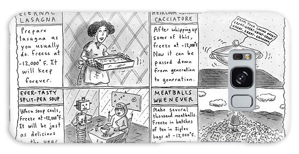 Prepare Galaxy Case - Cryogenic Cookery by Roz Chast
