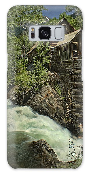 Crystal Mill Galaxy Case by Priscilla Burgers