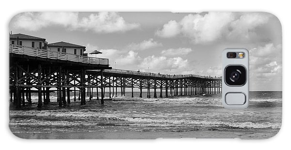 Crystal Pier In Pacific Beach Galaxy Case