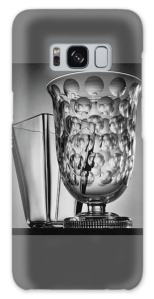 Crystal Vases From Steuben Galaxy Case