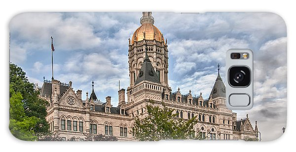 Ct State Capitol Building Galaxy Case by Guy Whiteley