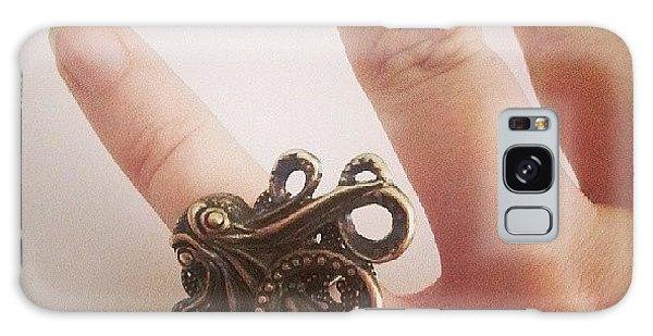 Steampunk Galaxy Case - #cthulhu #ring ♥ #octopus #jewelry by Daniela Barisone