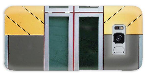 Art Deco Galaxy S8 Case - Cube House by Henk Van Maastricht