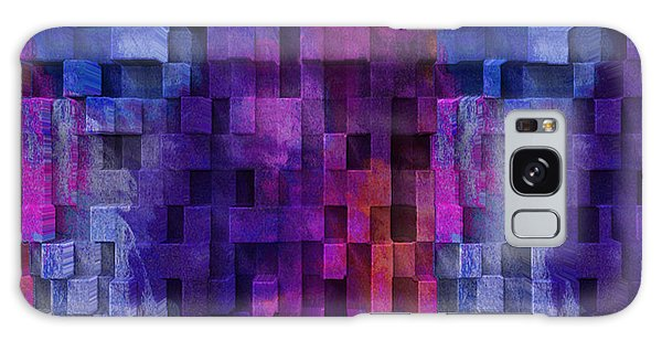 Imagery Galaxy Case - Cubed 2 by Jack Zulli