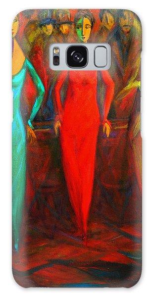 Cubism Dance II Galaxy Case