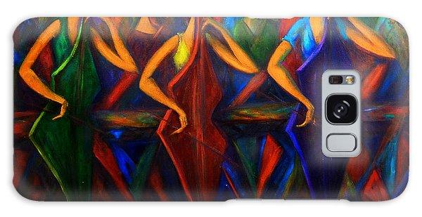 Cubism Music I Galaxy Case