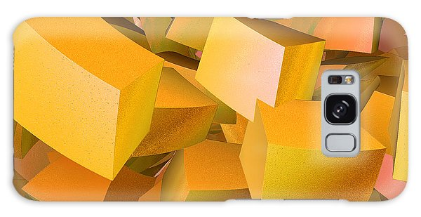 Cubist Melon Burst By Jammer Galaxy Case by First Star Art
