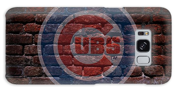 Cubs Baseball Graffiti On Brick  Galaxy Case