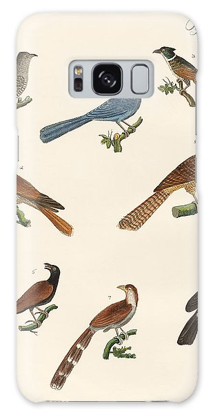 Cuckoos From Various Countries Galaxy Case