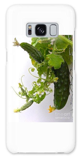 Cucumber Dance Galaxy Case