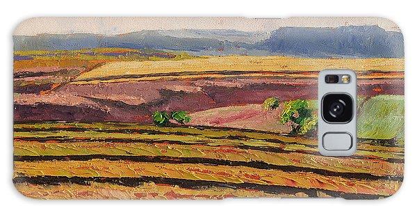 Cultivated Fields Near Ficksburg South Africa Bertram Poole Galaxy Case
