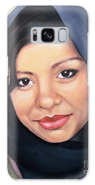 Cultured Beauty Galaxy Case by Malinda  Prudhomme