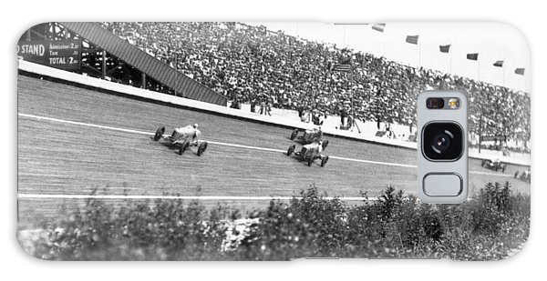 Motor City Galaxy Case - Culver City Speedway Action by Underwood Archives