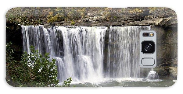 Cumberland Falls H Galaxy Case
