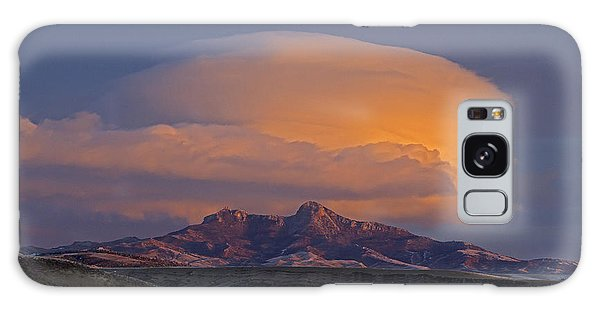 Cumulus Cloud Cap Over Heart Mountain   #2022 Galaxy Case