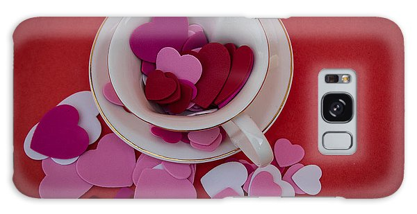 Cup Full Of Love Galaxy Case by Patrice Zinck