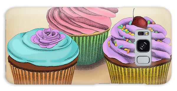 Cupcakes Galaxy Case by Meg Shearer
