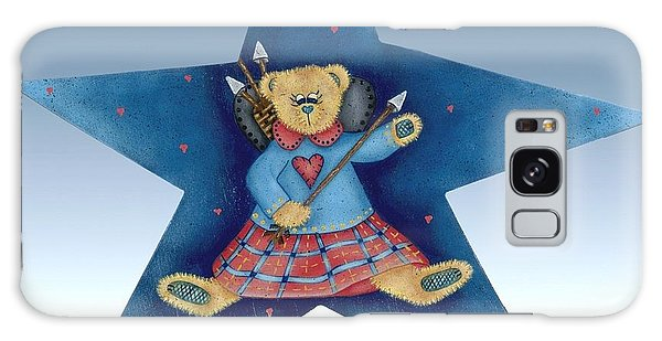 Cupid's Teddy Bear Galaxy Case by Tracy Campbell