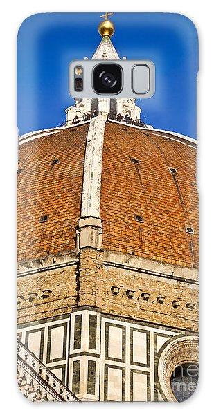 Cupola On Florence Duomo Galaxy Case