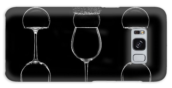Glass Galaxy Case - Cups And Bubbles by Fran Osuna