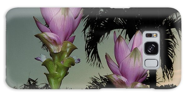 Curcuma Hybrid Flowers Galaxy Case by Greg Allore