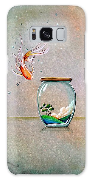 Goldfish Galaxy Case - Curiosity by Cindy Thornton