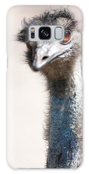 Curious Emu Galaxy Case by Carol Groenen