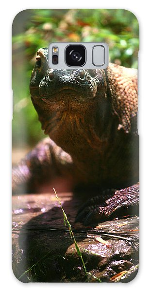 Curious Komodo Galaxy Case
