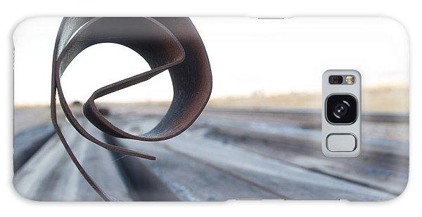 Curled Steel Galaxy Case