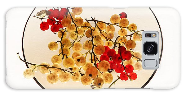 Currants On A Plate Galaxy Case