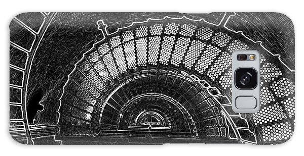 Currituck Lighthouse Stairs Galaxy Case