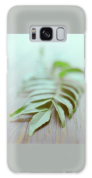 Curry Leaves Galaxy Case