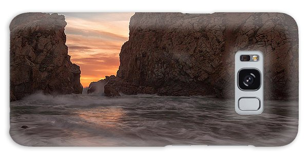 Curtain Call At Big Sur Galaxy Case by Tim Bryan