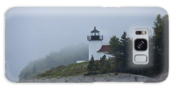 Curtis Island Lighthouse Galaxy Case by Daniel Hebard