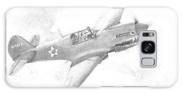 Curtiss P-40 Warhawk Galaxy Case by Jim Hubbard