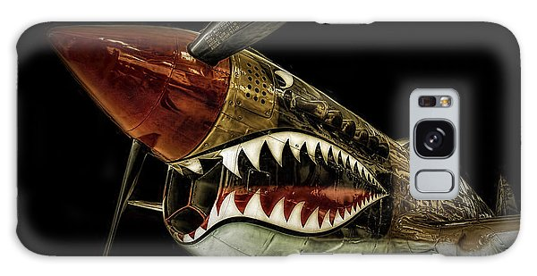 Curtiss P40 Warhawk  ... Galaxy Case by Chuck Caramella