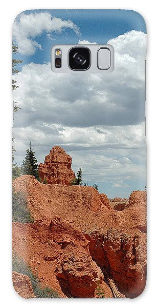 Curvac3ous Tree On The Rim Of Bryce Canyon Galaxy Case