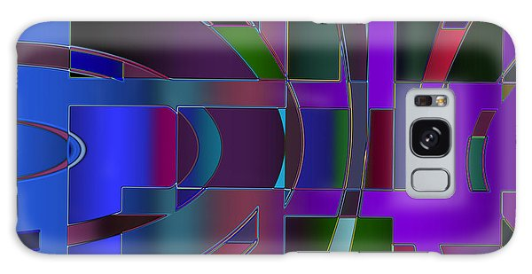 Curves And Trapezoids 2 Galaxy Case by Judi Suni Hall