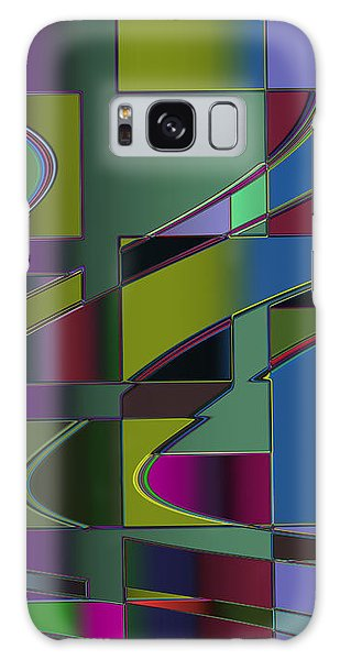 Curves And Trapezoids 3 Galaxy Case